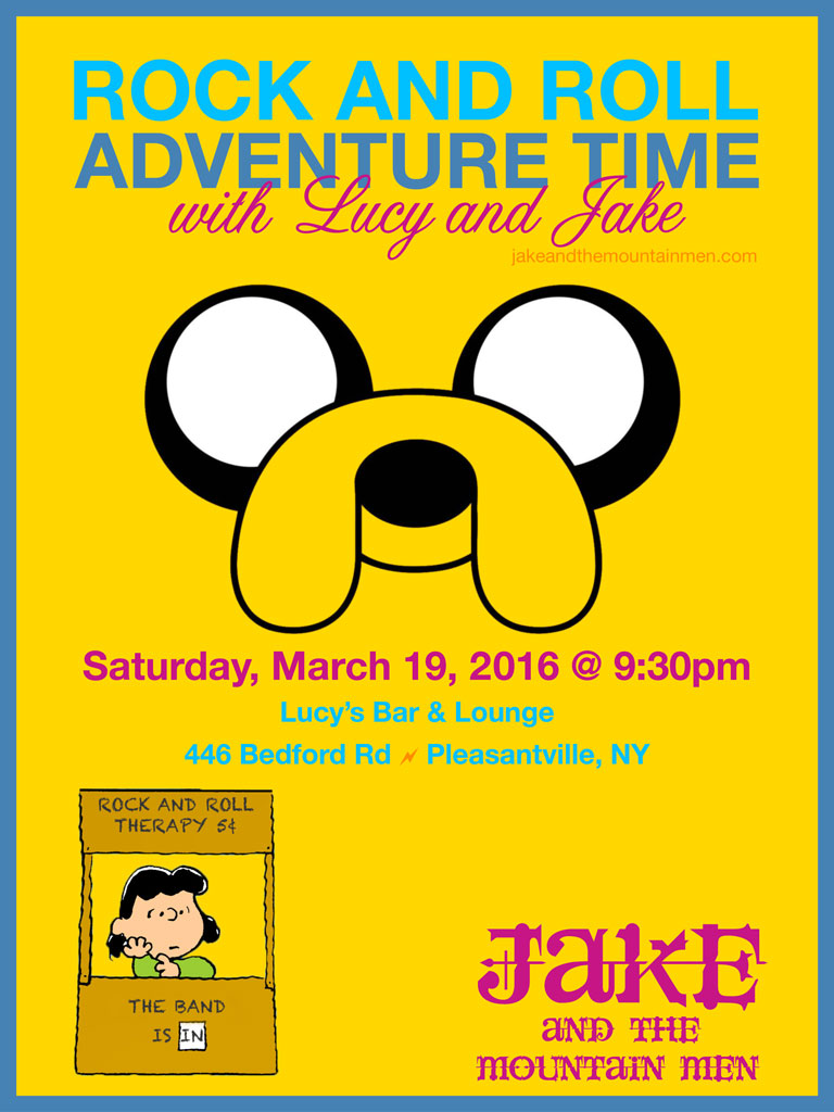 "Lucy's Bar & Lounge ""Rock And Roll Adventure Time"" 03-19-16"