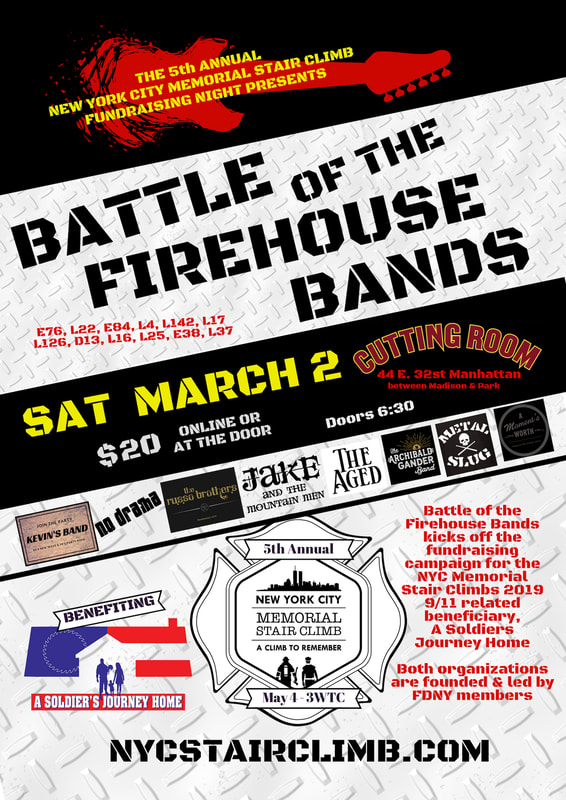 Battle of the Firehouse Bands 3/2/2019