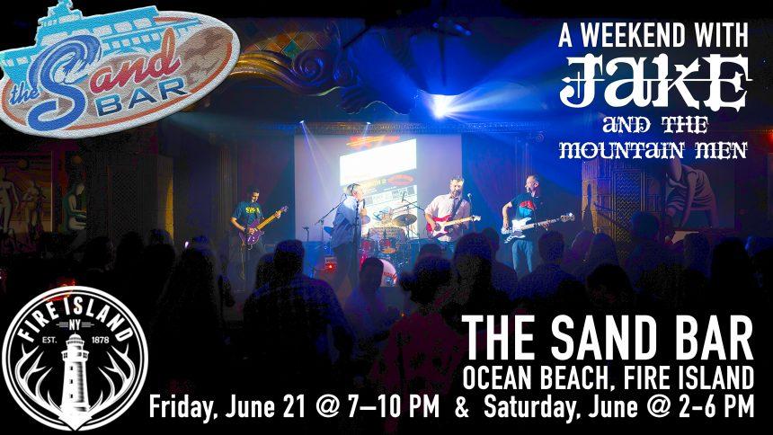 flyer for The Sand Bar - Fire Island